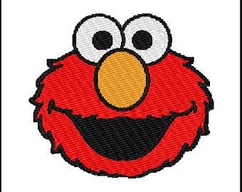 Elmo Embroidery Design