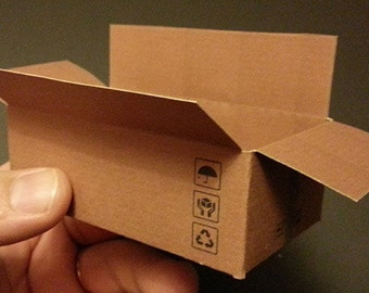 Brown packing boxes Box Packing LOGO 1:6 Action figure Diorama action figures accessories