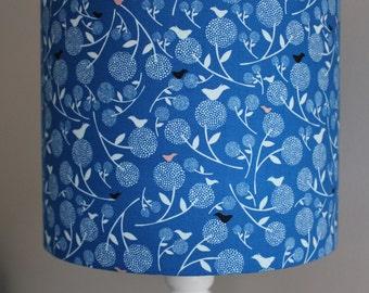 Lampshade - Blue Birds