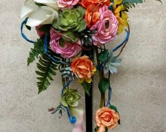Contemporary Sunflower Bouquet