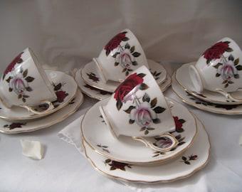 Vintage Amoretta Rose Colclough Trio
