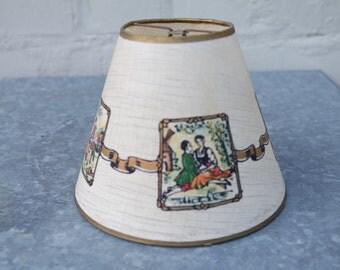 Vintage 60' paper lamp-shade