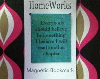 Magnetic Bookmark - Quotes