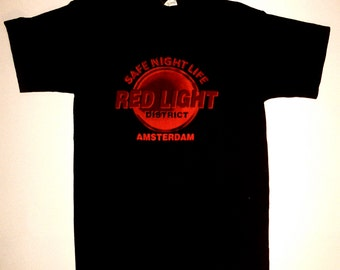 Vintage Amsterdam Red Light District T-Shirt