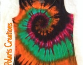 READY TO SHIP!!!! 4XL Tie Dye Tank Top, 4XL Tye Dye Tank Top