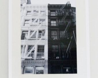 "Schwarz Weiss Foto ""Soho NYC"" / black and white picture ""Soho NYC"""