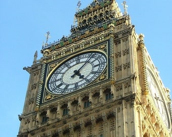 Travel Photography, England, UK, London, Big Ben, Parliament,