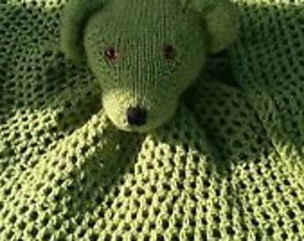 Teddy Comfort/cuddle blankie