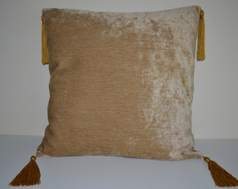 Brown Decorative Pillow Cover-16x16