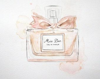 Miss Dior Illustration (Splash or Original)