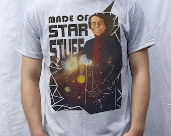 Carl Sagan T shirt Artwork