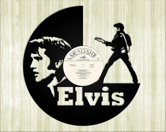 Elvis Silhouette On Etsy A Global Handmade And Vintage