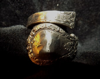 Wrapped Victorian Spoon/Toothbrush Ring