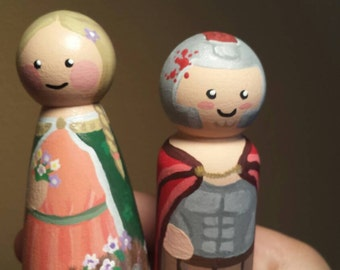 Patron Saint Peg Dolls