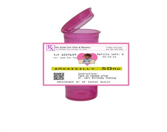 Doc McStuffins Prescription Party Favor (set of 30)