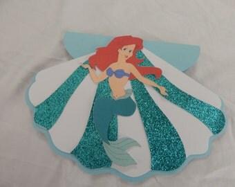 Little Mermaid Inspired Invitation