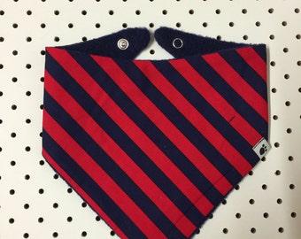 Pirate Stripe Bandana Dribble Bib