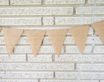 Burlap Pendant Banner Photo Prop,Wedding Banner,Birthday Party,Burlap,Bunting,Rustic,Country,Vintage,Shabby Chic,Western,Wedding Themed