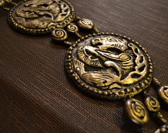 Khal Drogo horse medallion belt Game of Thrones