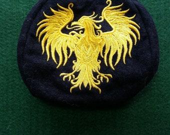 L205  Coin purse. Heraldry eagle