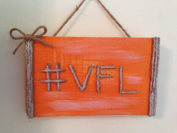 Tennesse vol for life hashtag home decor mancave vols for Decor hashtags
