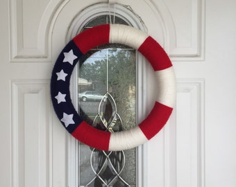 Summer Wreath, Patriotic Wreath