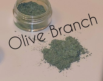 Olive Branch Mineral Eyeshadow - All Natural, Vegan, Cruelty & Gluten Free Mineral Makeup