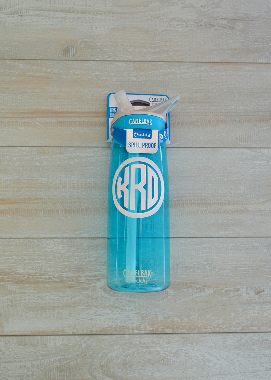 monogrammed camelbak water bottle