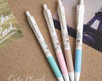 Zakka and Retro Korean Coffee Gel Pen (Blue Ink)