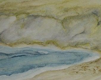 Goat Rock - Original Watercolor
