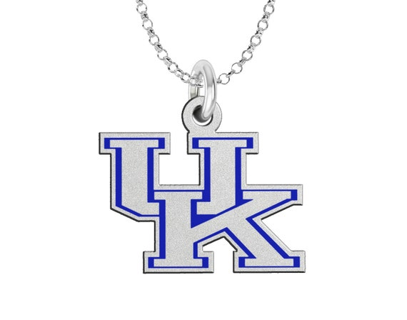 Kentucky UK Wildcats Sterling Silver And School By