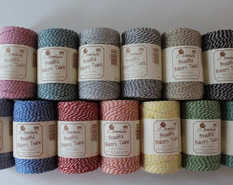 Bakers Twine 100m Spool 100% Cotton