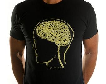 Bike Brain - Cycology Men's Cycling T Shirt Cycle Gift