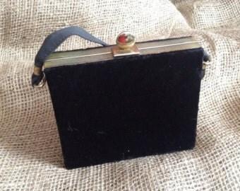 little black velvet purse