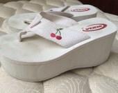 90s CLUB KID SODA platform sandals