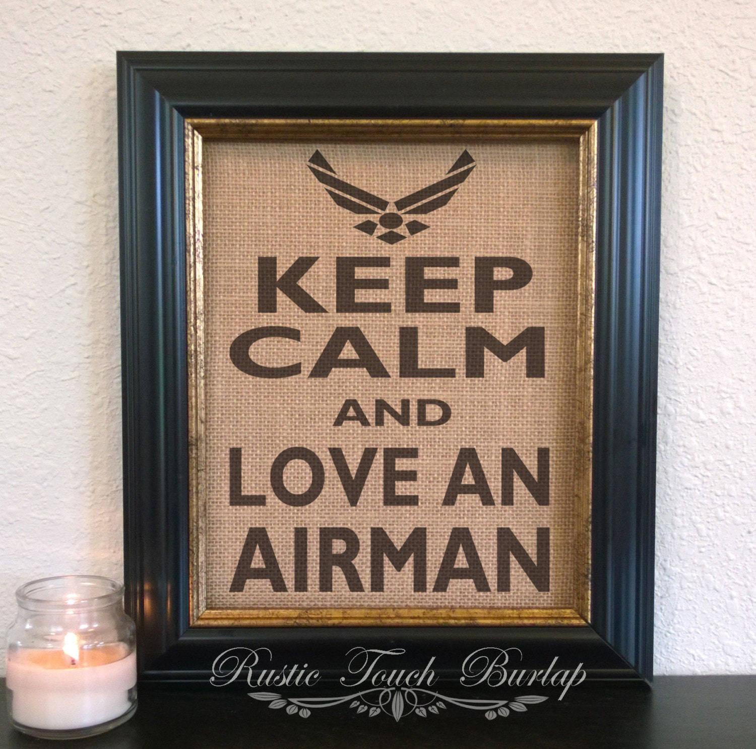 Air force decor air force wife air force by rustictouchburlap for Air force decoration