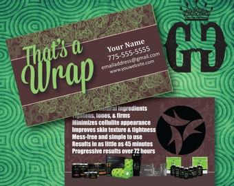 It Works, Chocolate Mint Business Card, Digital Download