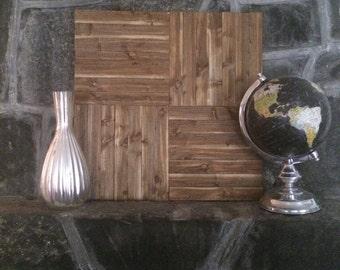 Square Stickwood Wood Wall Art