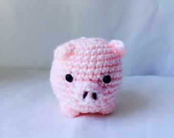 Pig Stuffed Animal Crochet