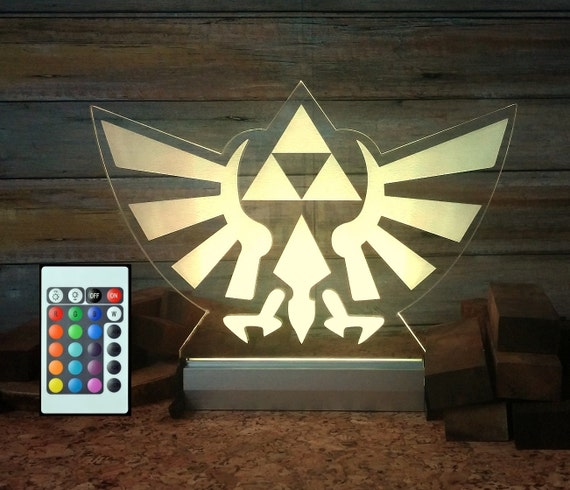 The Legend Of Zelda Game Zelda Triforce Lamp By BaioxDesign