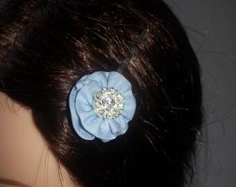 Free Shipping! Hair Pins set / Hair Accessories / Linen Hair Pins / Hair decor Linen Fabric hair decor Hair Accessory Hair Clips