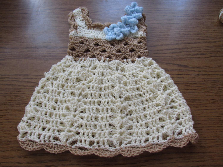 Crochet Baby Outfit Pattern : crochet baby dress pattern crochet pattern baby crochet