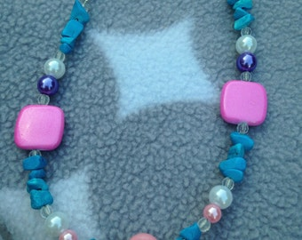 Princess Perfect summer textured necklace