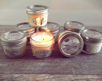 4 oz Soy Candle (various scents)