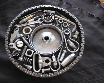 Custom Welded Industrial  Metal Parts Cake Plate