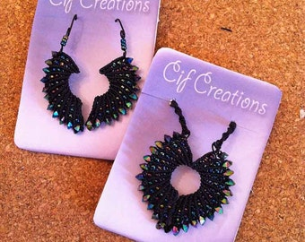 Macramé Necklace and Earring Sets