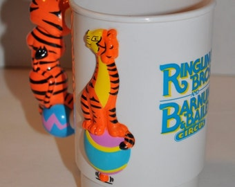 Barnum & Bailey Ringling Brothers Circus Greatest Show on Earth 3-D Cup Mug
