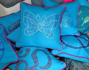 Pillows, Exclusiv, Decoration. Rhinestones