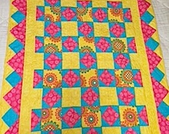 Flowers For Ruby Quilt Pattern
