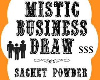 Mistic Business Draw Southern Folk Magic Sachet Powder